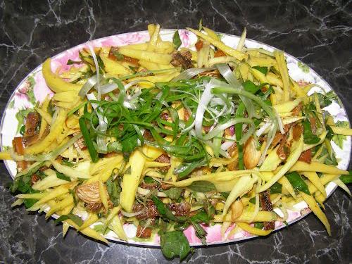 Bảng giá khô cá đuối và các món ăn làm từ nó Goi-xoai-kho-ca-duoi